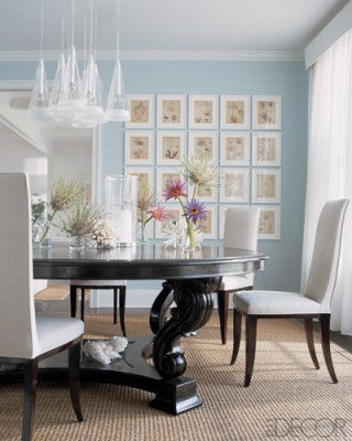 Page 3 for Light blue dining room